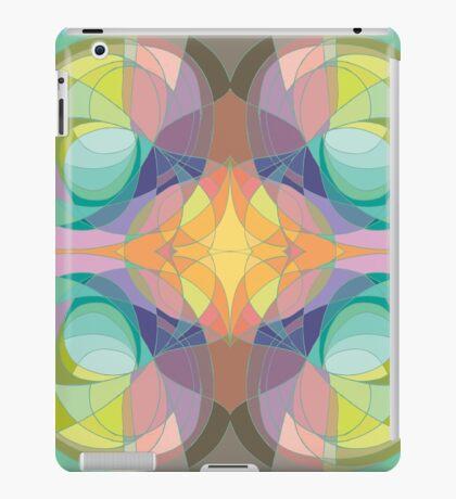 Nouveau Abstract Art Colour Wheel iPad Case/Skin