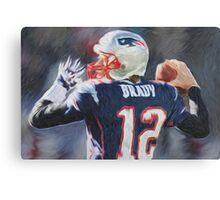 Tom Brady - NFL - Patriots Canvas Print