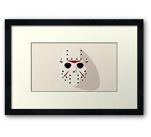Jason Friday the 13th Framed Print