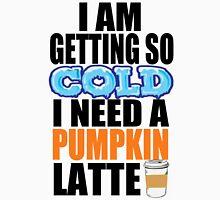 Pumpkin Latte Womens Fitted T-Shirt