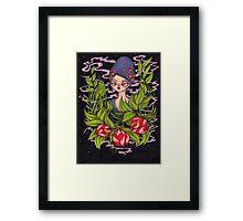 Autumn Queen Framed Print