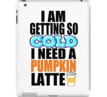 Pumpkin Latte iPad Case/Skin
