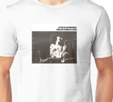 Patti Smith Gender Is A Drag  Unisex T-Shirt