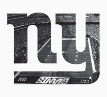 New York Giants Stadium Black and White Kids Clothes