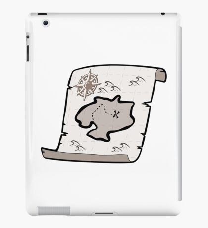 treasury maps iPad Case/Skin