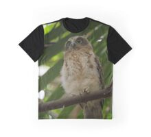 Southern Boobook Owlet Graphic T-Shirt