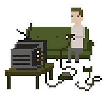 Gamer Pixel Art by obinsun
