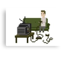 Gamer Pixel Art Canvas Print