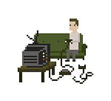 Gamer Pixel Art Photographic Print