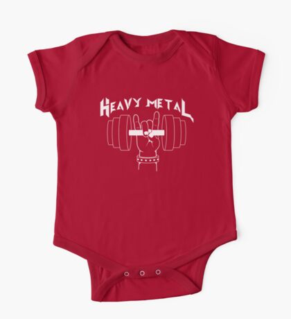 Heavy Metal One Piece - Short Sleeve