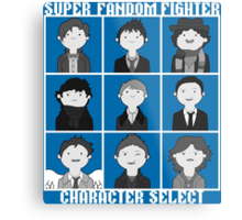 Super Fandom Fighter!  Metal Print