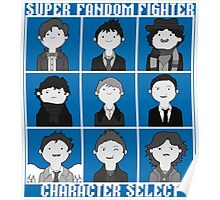 Super Fandom Fighter!  Poster