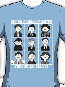 Super Fandom Fighter!  T-Shirt