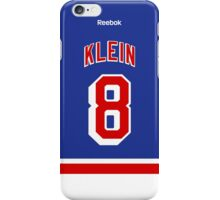 New York Rangers Kevin Klein Jersey Back Phone Case iPhone Case/Skin