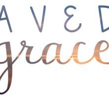 Saved by Grace Sticker