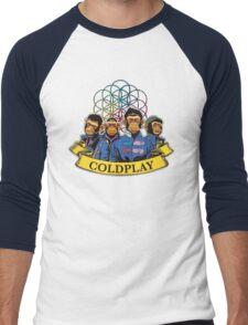 coldplay Men's Baseball ¾ T-Shirt