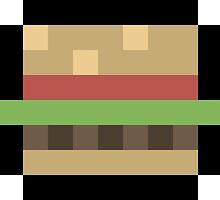 8-Bit Burger by obinsun