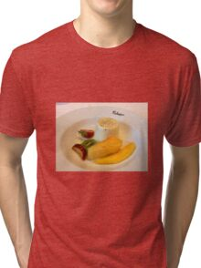 Panna Cotta and Fruit Tri-blend T-Shirt