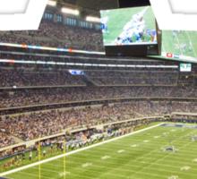 Dallas Cowboys Stadium Color Sticker