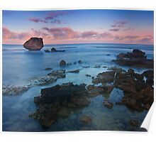 Sunrise at Point Peron, Western Australia Poster