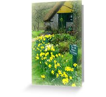 The Old Bakery at Branscombe Greeting Card