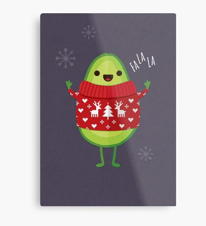 Avo Merry Christmas! Metal Print