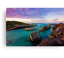 Sunrise at Elephant Rocks, Denmark Canvas Print