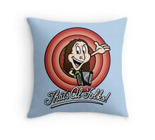 That's Al Folks! (Modern) Throw Pillow