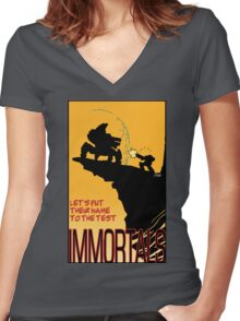 The Immortal Women's Fitted V-Neck T-Shirt