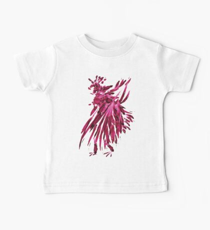 watercolor rooster Baby Tee