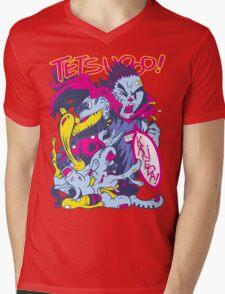 TETSUOOO! Mens V-Neck T-Shirt