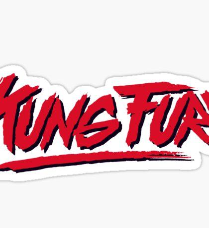 Kung Fury Logo Sticker