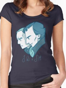 Duo of 221B Baker Street Women's Fitted Scoop T-Shirt