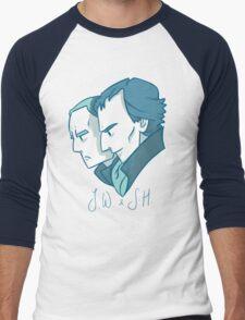 Duo of 221B Baker Street Men's Baseball ¾ T-Shirt