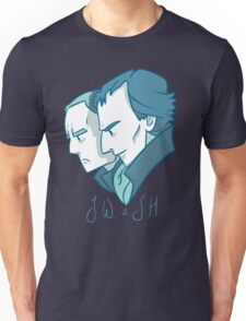 Duo of 221B Baker Street Unisex T-Shirt