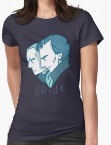 Duo of 221B Baker Street Womens Fitted T-Shirt