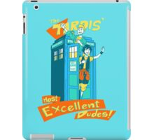 Tardis' Excellent dudes iPad Case/Skin