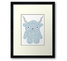 Yeti Monster Framed Print