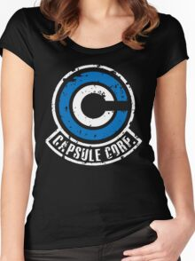 Capsule Corp. Women's Fitted Scoop T-Shirt
