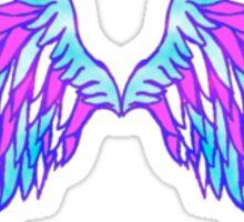 Wings. Sticker