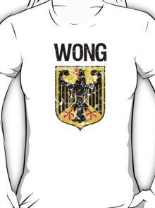 Wong Surname German T-Shirt