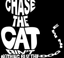 Chase the Cat - Cloud Nine (White) by Sean Irvin
