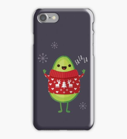 Avo Merry Christmas! iPhone Case/Skin