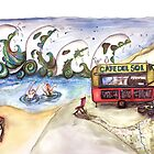 Cafe Del Sol by Jenny Wood