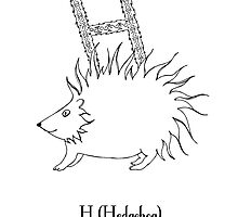 H is for Hedgehog by Cat-Igrun