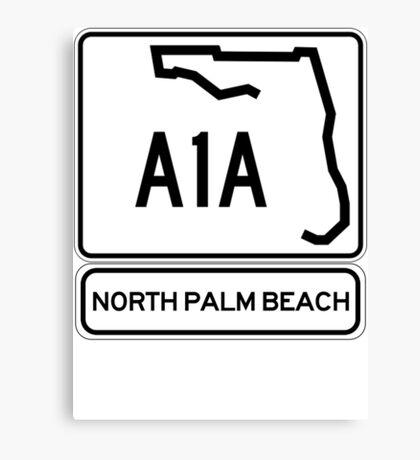A1A - North Palm Beach Canvas Print