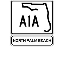 A1A - North Palm Beach Photographic Print