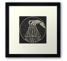 The Cloak Framed Print
