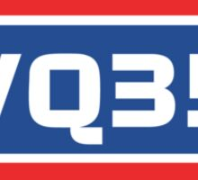 VQ35 Engine Sticker