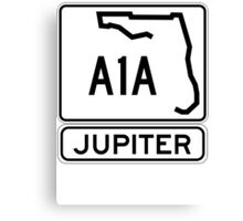 A1A - Jupiter Canvas Print